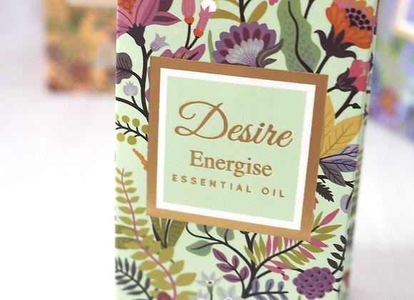 'Energise'  - Lemon and Basil Essential Oil - 10ml