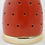 Thumbnail: Red and Gold Ceramic Tealight Holder
