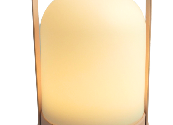 Pastel Pink Battery Operated Lamp