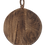 Thumbnail: Large Round Wood Chopping Board with Carved handle