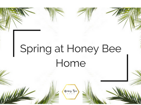 Spring at Honey Bee Home