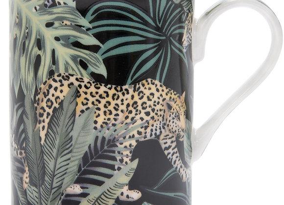 Jungle Cheetah Print China Mug