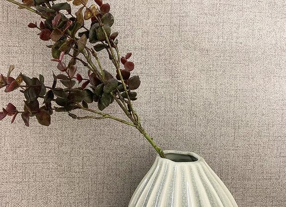 Broste Copenhagen - 'Rainy Day'- Small Wide Vase