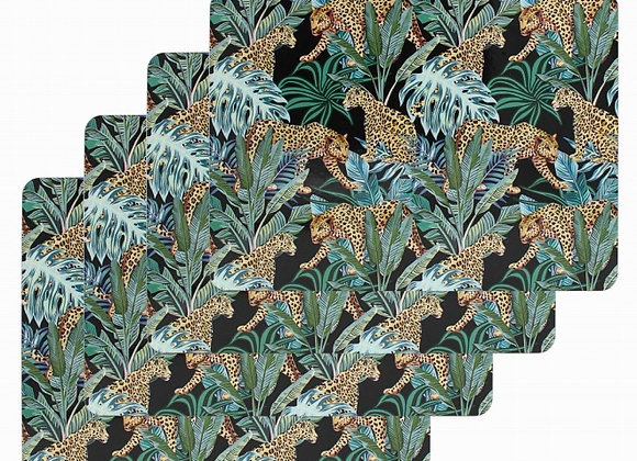 Jungle Cheetah Placemats - set of 4