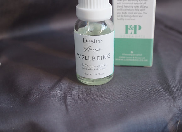 'Wellbeing' - Orange, Eucalyptus, Rosemary, Cinnamon and Musk essential oil