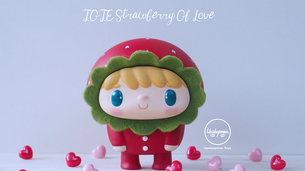Valentine's Edition ToTe  Strawberry Of Love