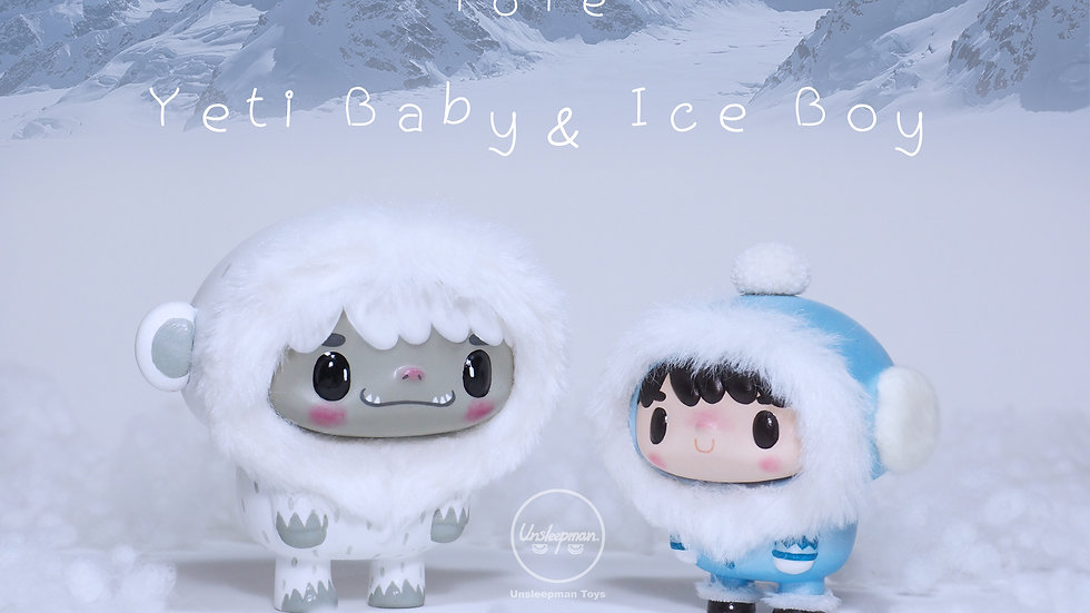 Special Set ToTe Yeti Baby & Ice Boy