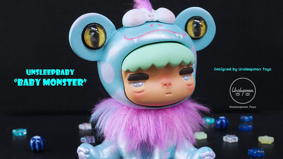 "Limited Edition Unsleepbaby ""ฺBaby Monster"""