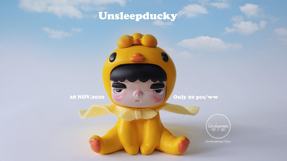 """Limited Edition Unsleepbaby """"Unsleepducky"""""""