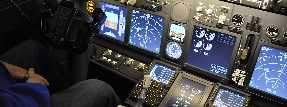 Boeing 737-800 flight-deck