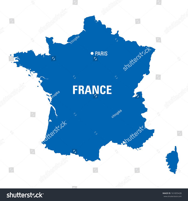 stock-vector-blue-map-of-france-16183542