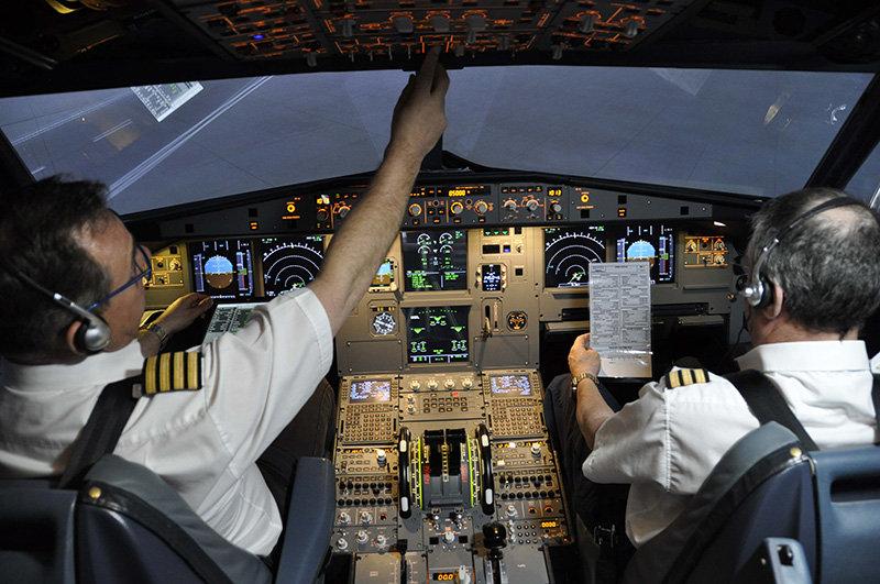 45 Min Airbus A320 Flight Experience