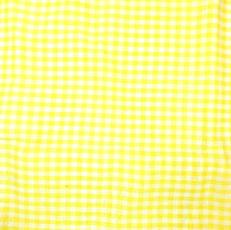 Yellow Gingham #46