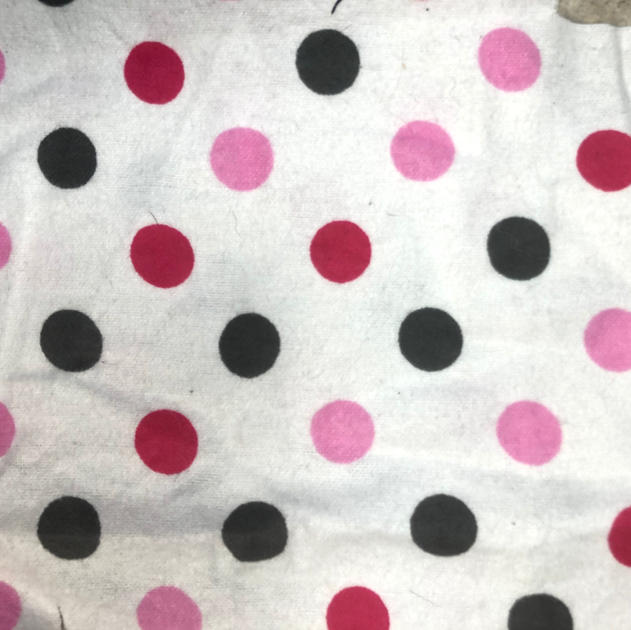 Pink and Grey Spots #33