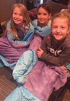 Kids Sewing Lessons Mermaid tail blankets