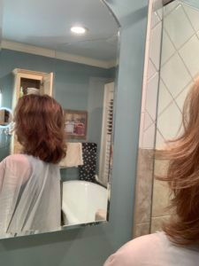 DIY home haircut