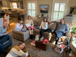 My Empty Nest was filled to the brim on Christmas day!