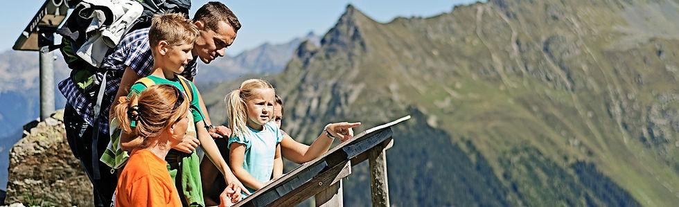 Wandern familie Montafon