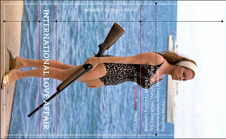 international love affair cover template