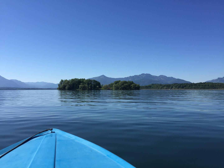Boot Krautinsel