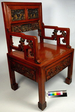 Chinese Lacquer, aqueous cleaning