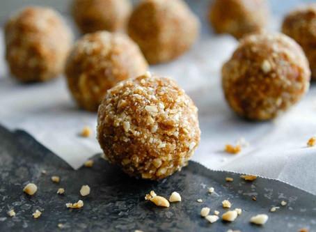 3 Ingredient Salted Peanut Caramel Bliss Balls