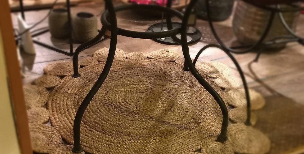 Teppich aus Jute
