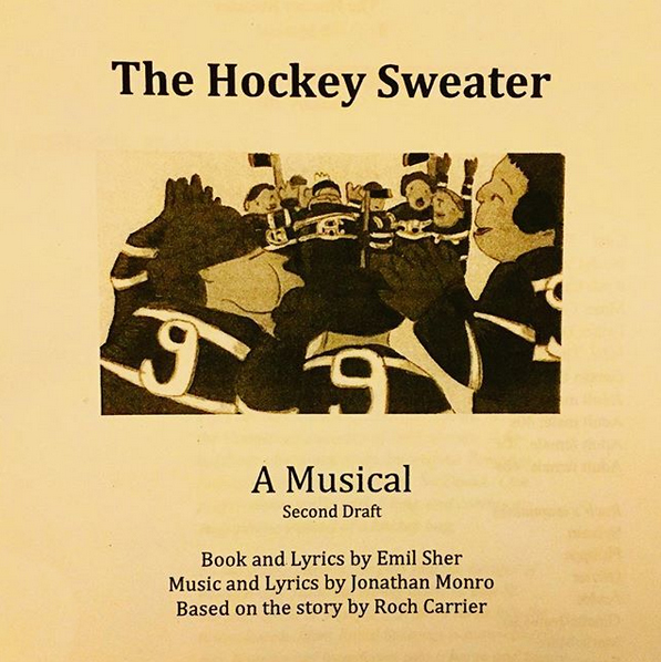 Hockey sweater, workshop