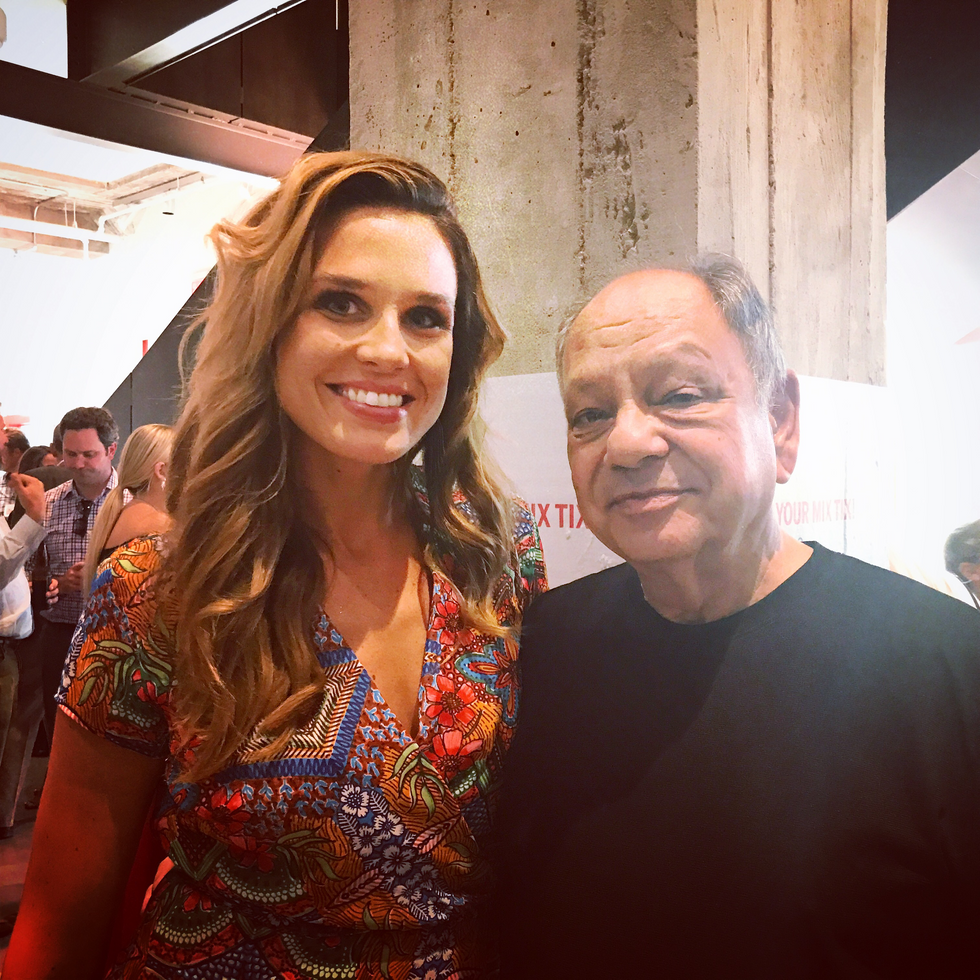 My #Unscripted moment with Cheech Marin. Ana: Why is Chicano art so important to you? Cheech: Becaus