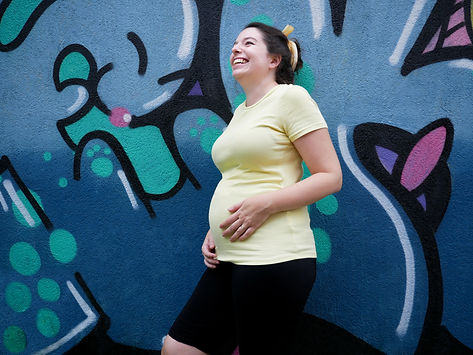 Photographie portrait - Catherine Savoie enceinte