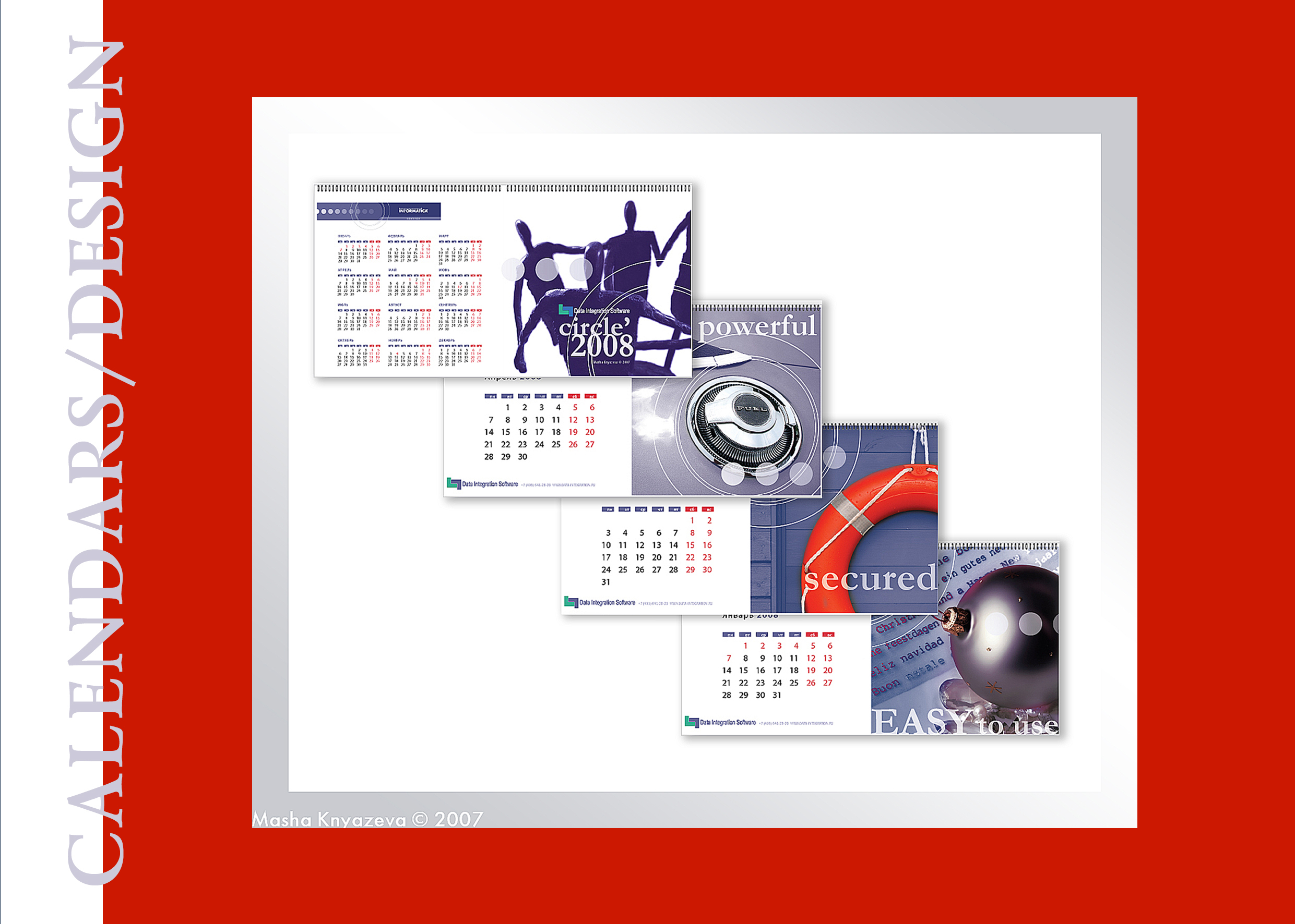 Calendar design & art photos