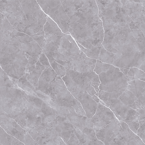 Moderate Grey Marble Looking Polished Tiles CT1103
