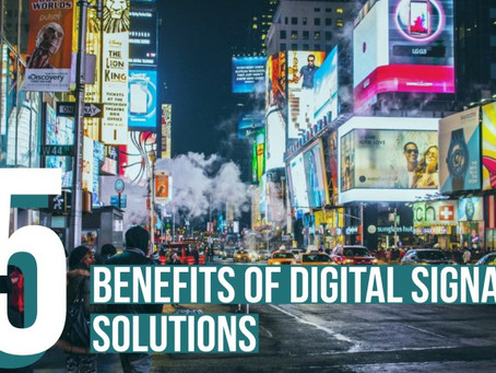 Star Cloud Services: 5 Benefits of Digital Signage Solutions