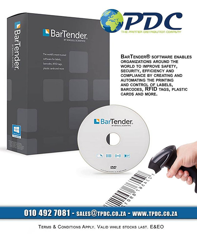 Bartender Software from TPDC | Point Of Sale Systems | The Printer