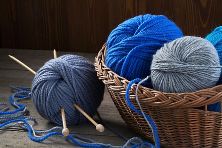 Basket of Yarn & Needles-iStock-66195215