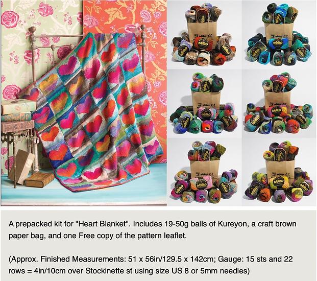 Heart Blanket Kit in Noro Kureyon.png