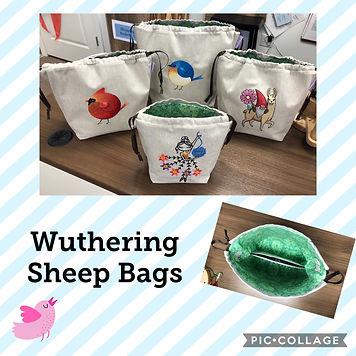 Wuthering Sheep Bag