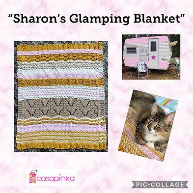 Sharon's Glamping Blanket