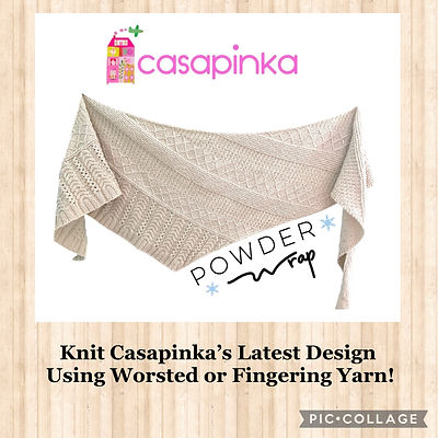 Casapinka Powder Wrap
