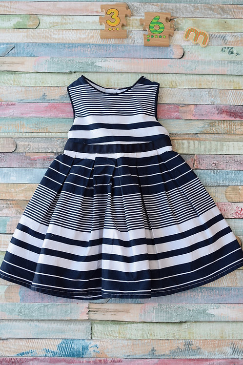 Jasper Conran Blue Dress 3-6 Months Old