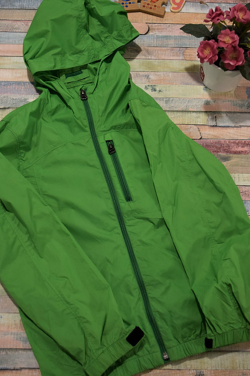 Green Rain Jacket 8-9 Years Old