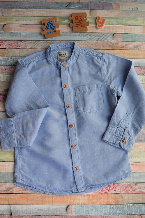 Next Blue Shirt 4-5 Years Old