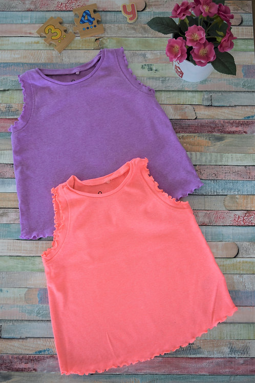 Two Tshirts Set 3-4 Years Old