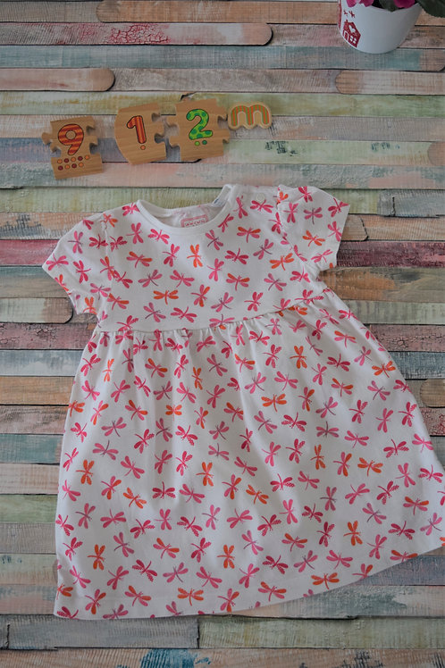 Bluezoo Cotton Dress 9-12 Months
