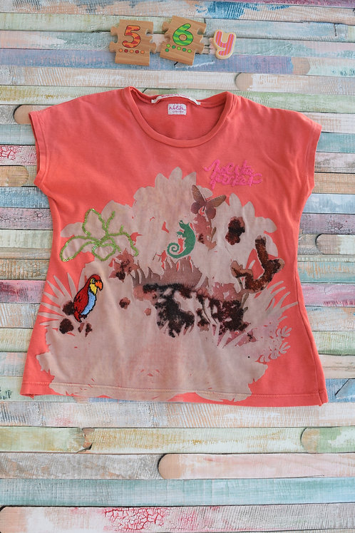 Italian Parrot Tshirt 5-6 Years Old