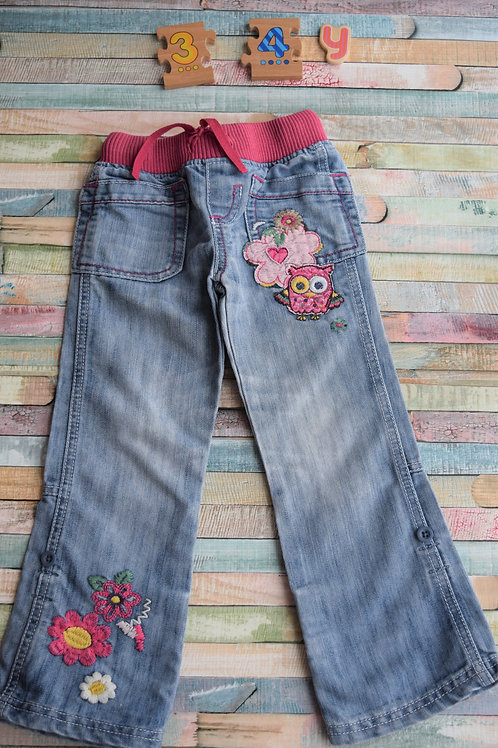 Owl Jeans 3-4 Years Old