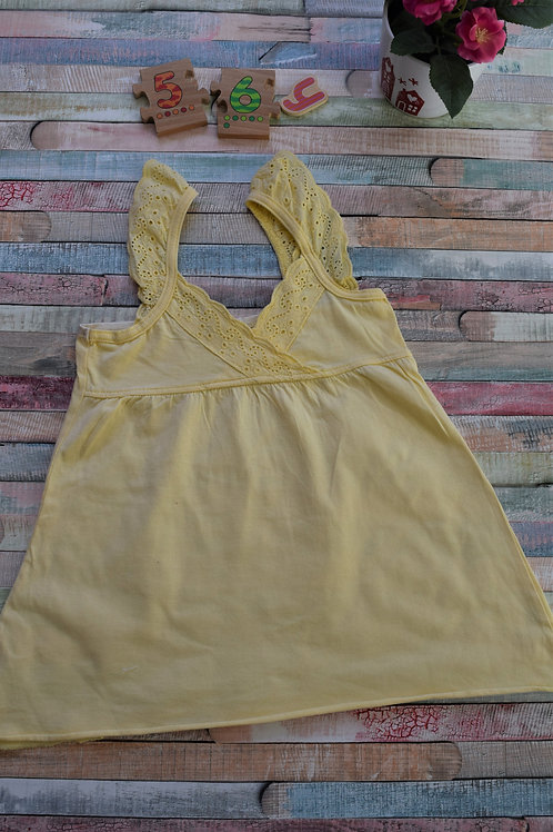 Yellow Summer Top 5-6 Years Old