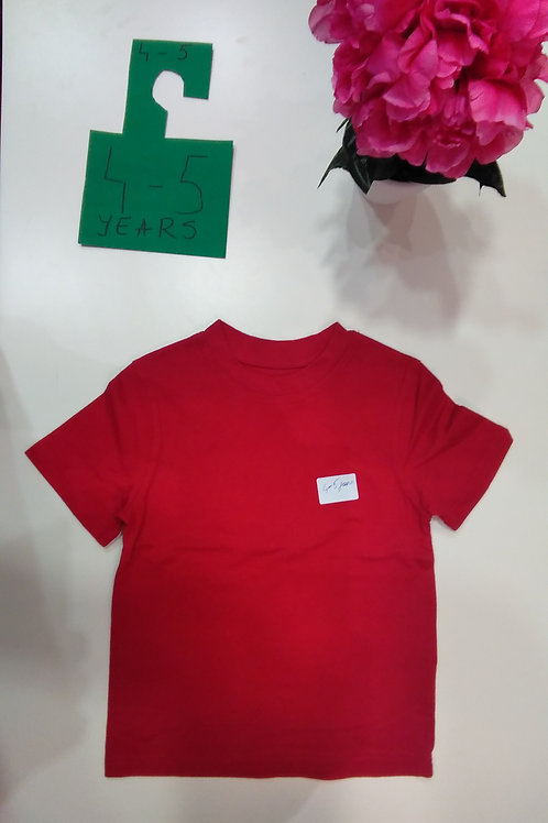 All Red T-Shirt