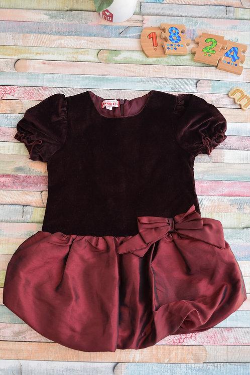 Velvet Dress 18-24 Months Old