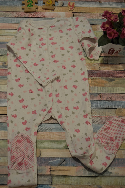 Alien Pink Bodysuit 2-3 Years Old
